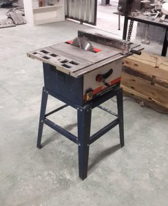 10'' table saw - Blade guard and Riving knife removed