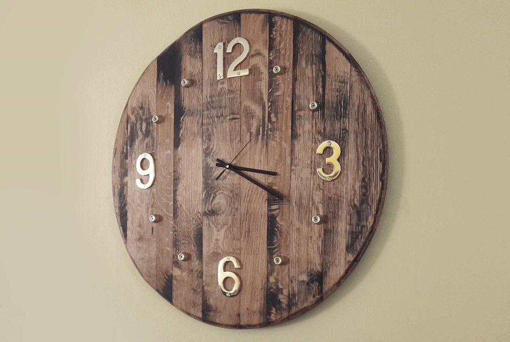 Diy Wood Wall Clock