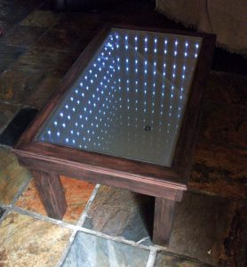 Easy build infinity coffee table