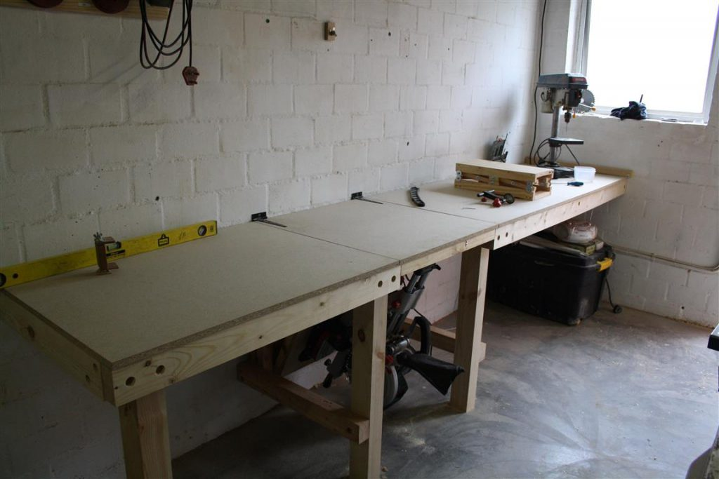 Diy Folding Miter Saw Stand Make The Most Of A Small