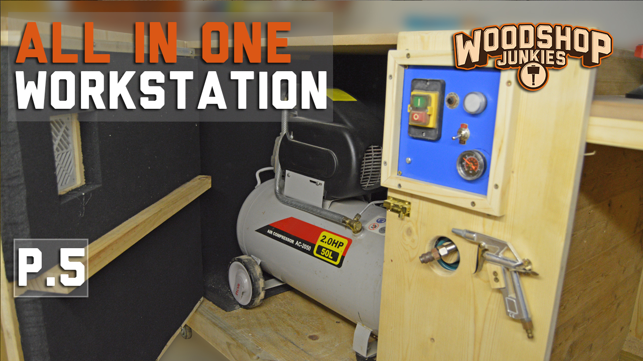 Soundproof Compressor Enclosure | ALL-IN-ONE Woodworking